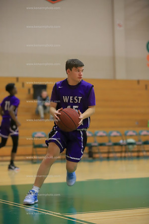 West Bladen vs East Columbus jv boys 2020 basketball