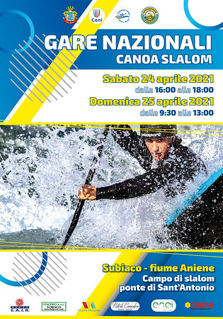 Gare Nazionali Canoa slalom 2021 Subiaco