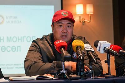 """Монгол Улсын аварга П.Бүрэнтөгс """"Бүрэн Монгол гэр"""" төслөө олон нийтэд танилцууллаа"""