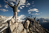 """Multiplicity III"", Narao Peaks, Yoho National Park, British Columbia, Canada."