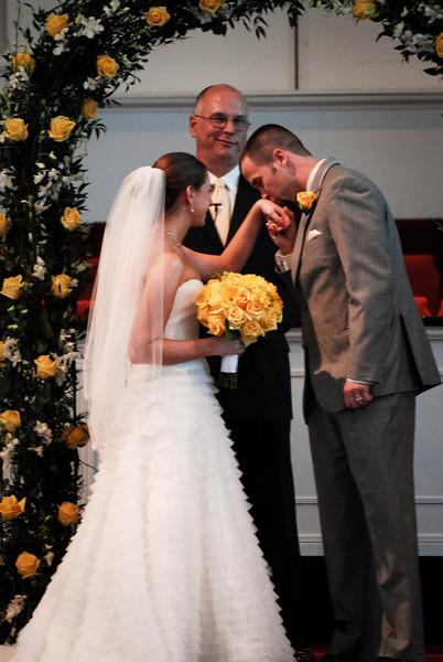 Casey & Lamar's wedding ceremony