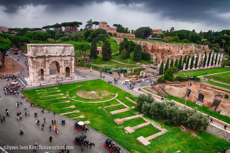 The Arch of Constantine (Arco di Costantino)