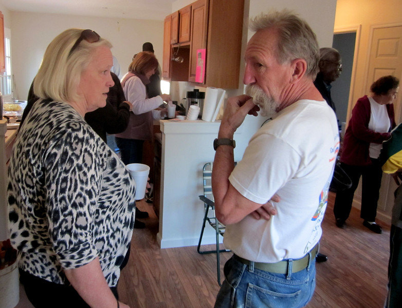 Brenda Barton talks with Tim DuBois.