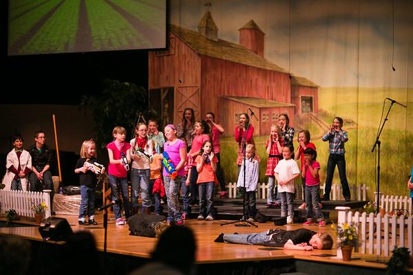 Kingdom Kids Choir Musical 2015: Acorns to Oaks