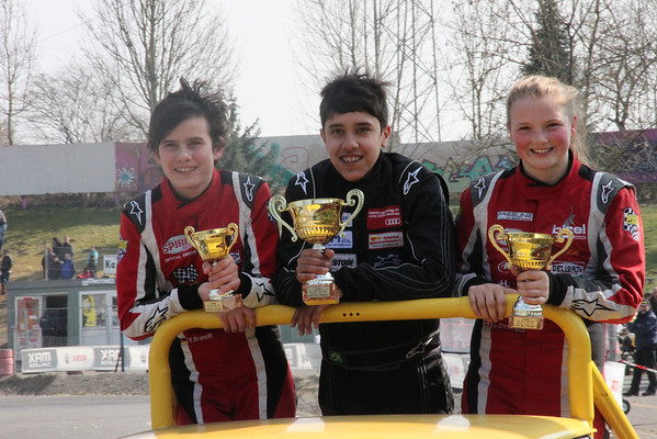 2013 Swiss Rotax Challenge race #1 Wohlen : 2nd place