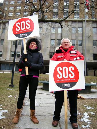 Ontario Health Coalition 'Save Our Services' Rally