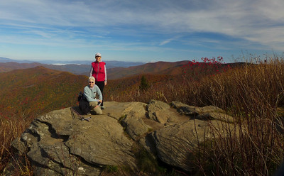 Upper Flat Laurel and Sam Knob with Pat