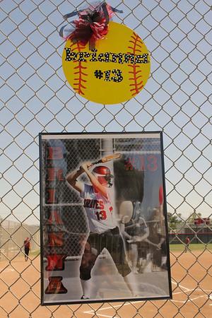 Norte Vista H.S. Girls Softball-Senior Day