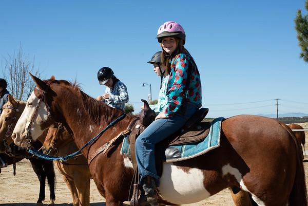 Katey Barrel Racing