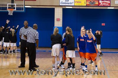 JV Lady Bruins Vs Calhoun 18 Jan 2012