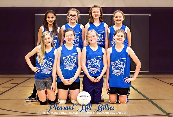 Pleasant Hill Volleyball - 5th grade