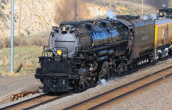 Union Pacific Big Boy,  Colorado 2019