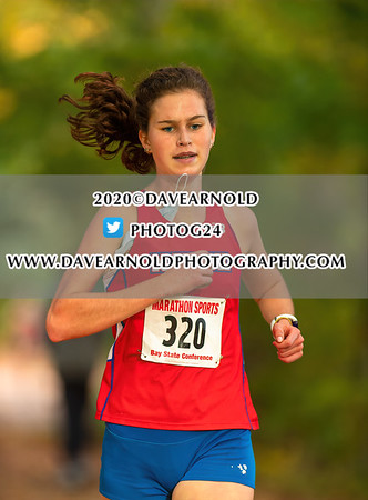 10/21/2020 - Girls Varsity Cross Country - Natick vs Needham