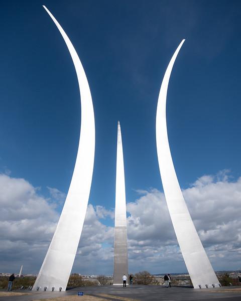 7. Air force Memorial