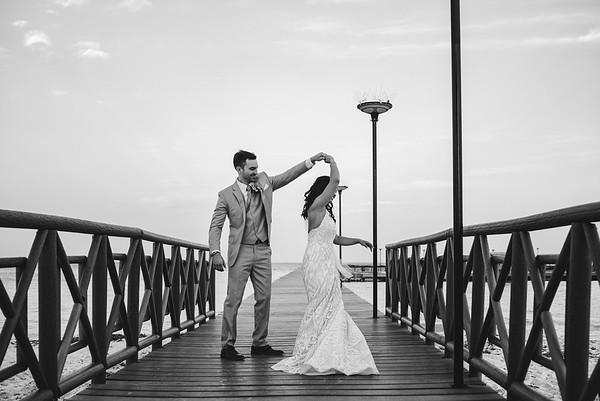 Ali and Jimmy´s Wedding Photography at Dreams Playa Mujeres, Cancun