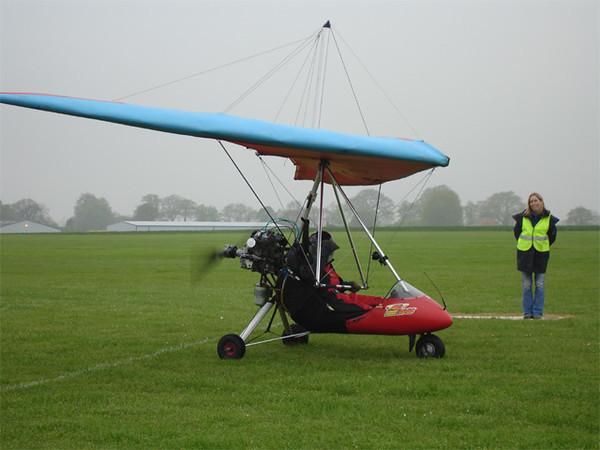 Chaser on landing