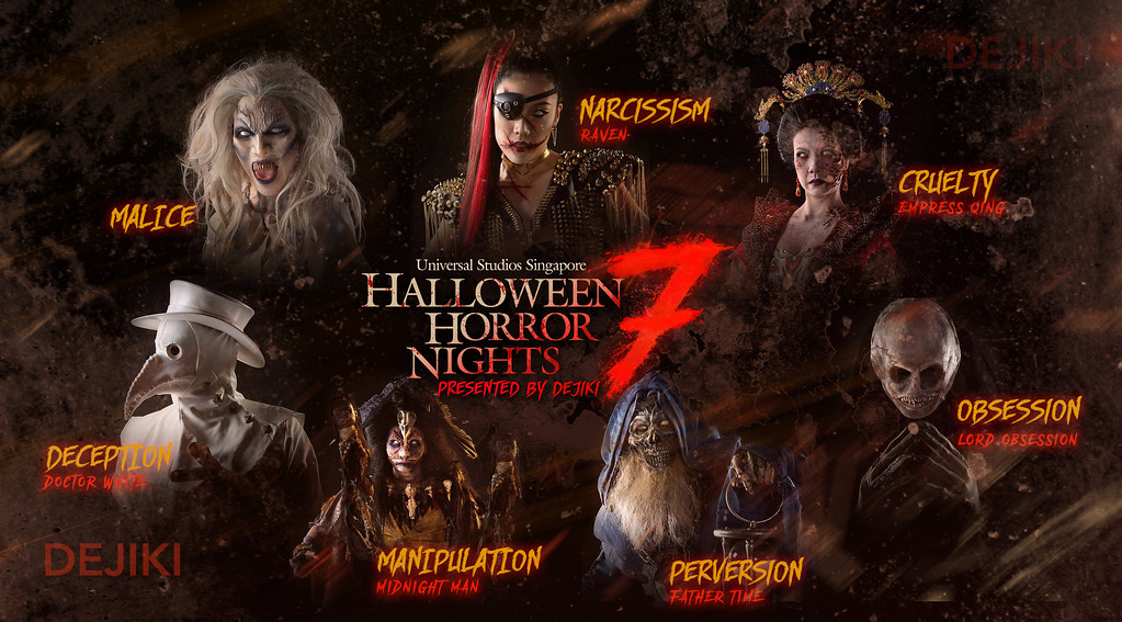 Halloween Horror Nights 7 Compilation of HHN7 Icons by Dejiki.com