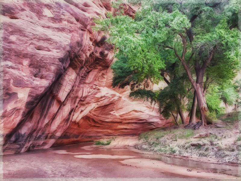 Canyon de Chelly , AZ