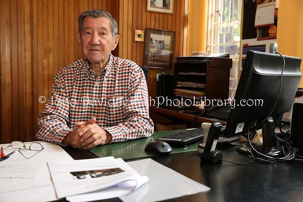 KENYA, Nairobi. Charles Szlapak, Honorary Life Chairman & Trustee, Nairobi Hebrew Congregation (8.2013)
