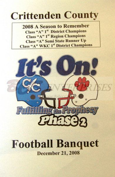 2008 Football Banquet