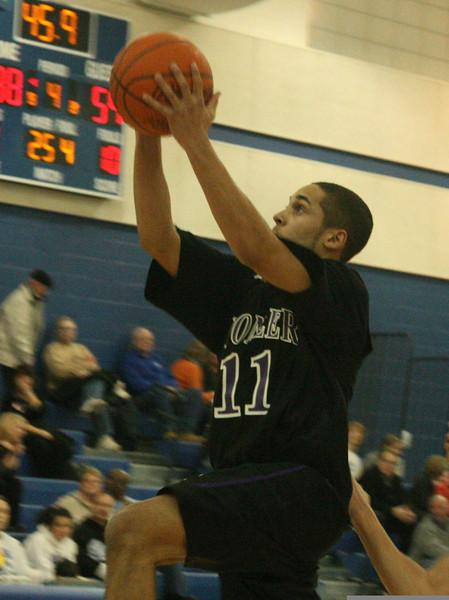 Pioneer at Adrian basketball 2007