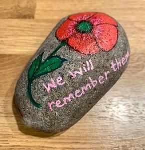 Remembrance pebbles
