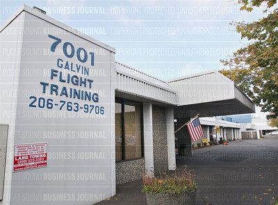 Amazon's Jeff Bezos may be looking for space on Boeing Field in Seattle, Washington
