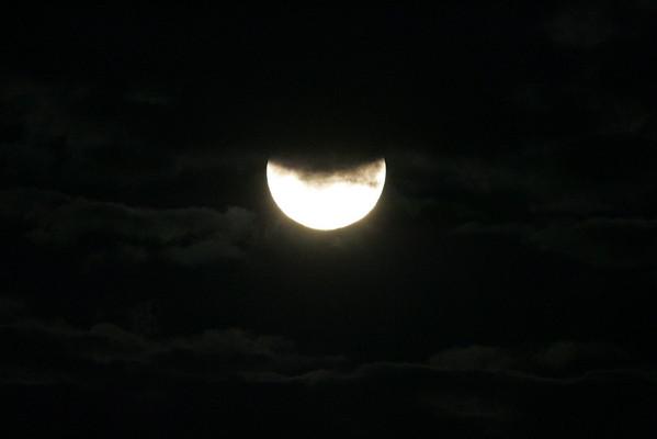 Lunar eclipse: Aug. 28, 2007
