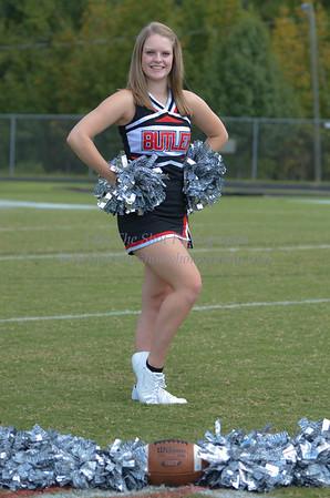 2012 Butler High School Football Cheerleaders