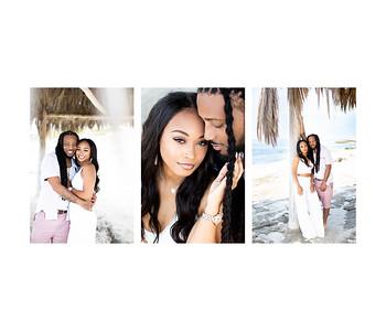 Windansea Beach La Jolla couples photos and baby announcement