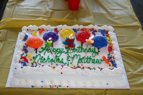 Nicholas and Matthew's Birthday - 2009