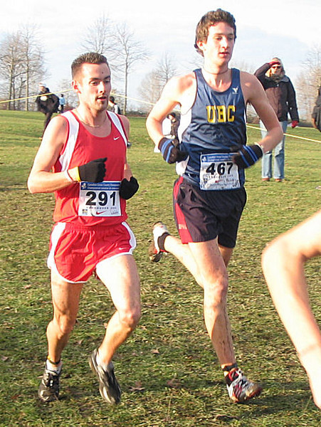 2005 Canadian XC Championships - Nick Walker and Will Stewart