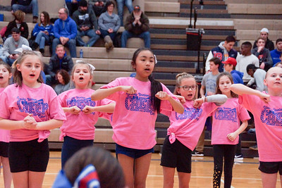 LB Cheerleaders Youth Camp Halftime Show (2019-01-25)