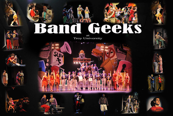 Band Geeks at Troy University 3/31/2012