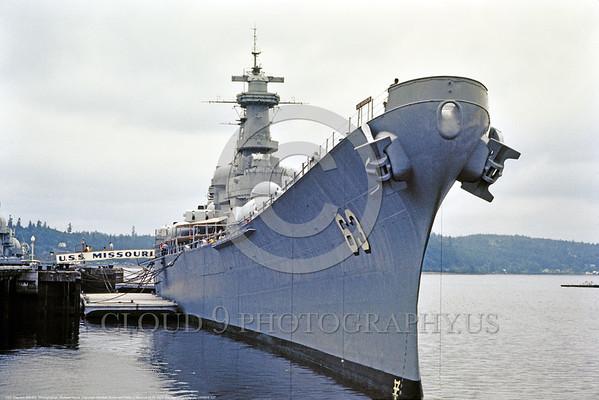 U.S. Navy USS Missouri (BB-63) World War II Era Fast Super Battleship Warship Pictures