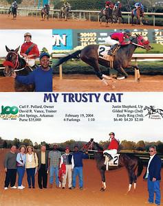 MY TRUSTY CAT - 2/19/2004