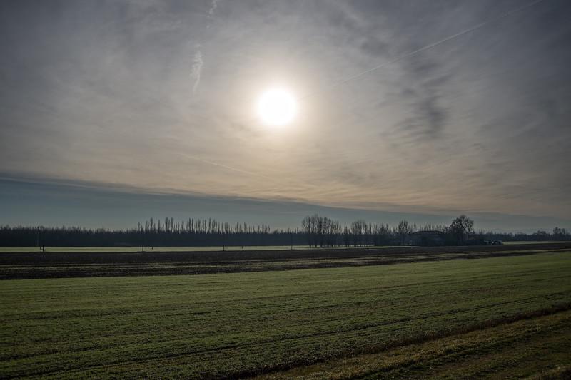 Winter Sunrise - Sant'Agata Bolognese, Bologna, Italy - December 29, 2012