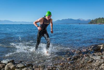 Tahoe Off-Road Triathlon Swim