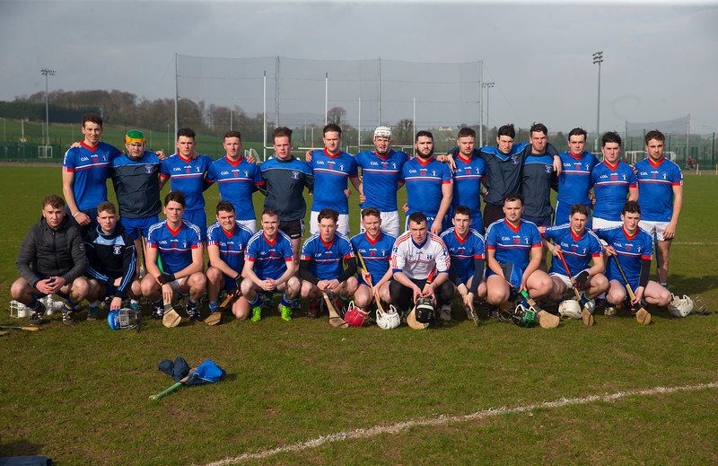 22/02/2019. Fitzgibbon Cup at WIT. Electric Ireland Fergal Maher Cup Semi Final MIC Thurles V St Marys. Pictured is MIC Thurles team. Picture: Patrick Browne