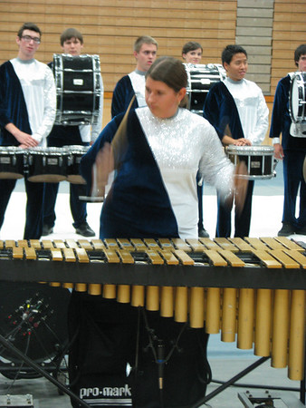 """So Long to Winter"" Drumline Performance"
