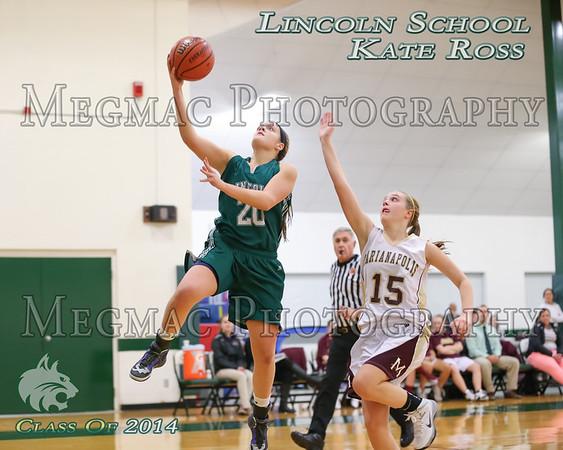 2013-2014 Girls Basketball - Lincoln School