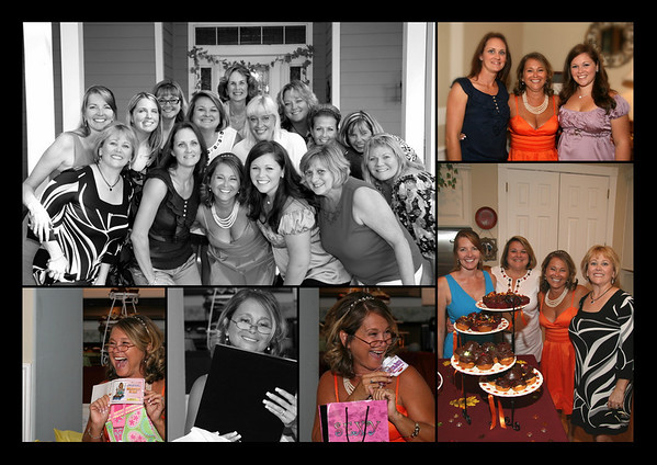 Marcy's Smiley Bridal Shower