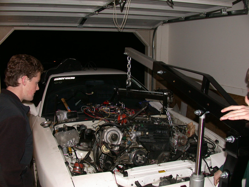engine on its way out