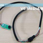 SKU: V6-MEDIA/BACK, V-Auto Label Cutting Machine Media Sensor at Back Position with Single Non-Contact Optical Laser Sensor