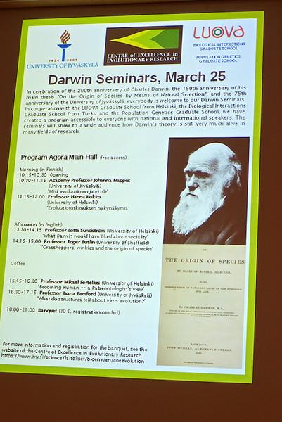 2009-03-25 Darwin Seminar