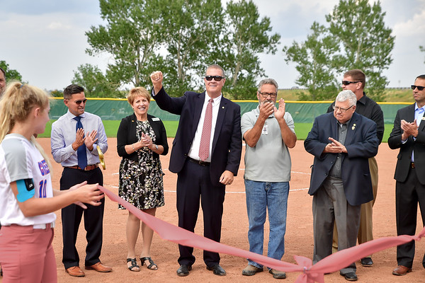 Opening of Cherry Creek Softball field - August 22 2017
