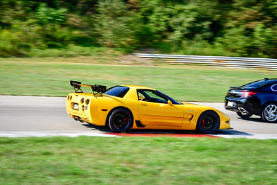 2021 SCCA TNiA  Aug 27 Pitt Int Yellow Vette Wing