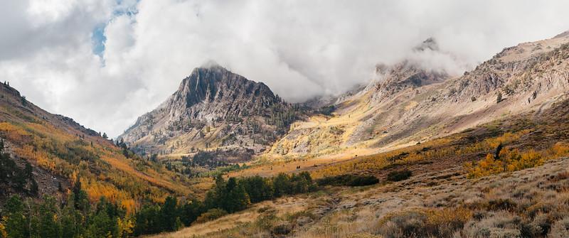 Mountain drama pano