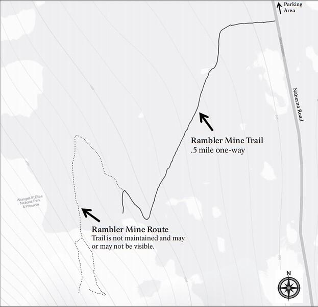 Wrangell-St. Elias National Park and Preserve (Nabesna Area - Rambler Mine Trail)