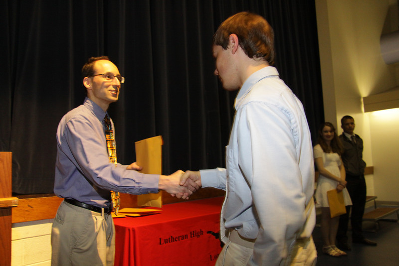 Awards Night 2012: Student of the Year -  AP Government